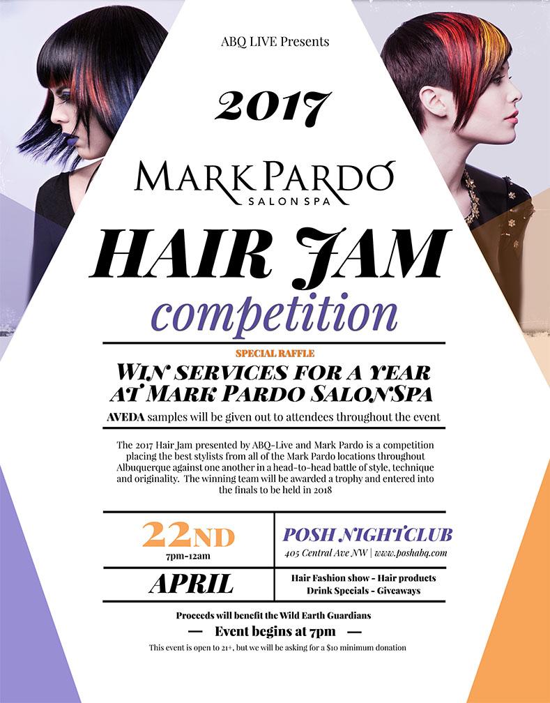 Mark pardo salon spa hair jam for Craft shows in albuquerque 2017
